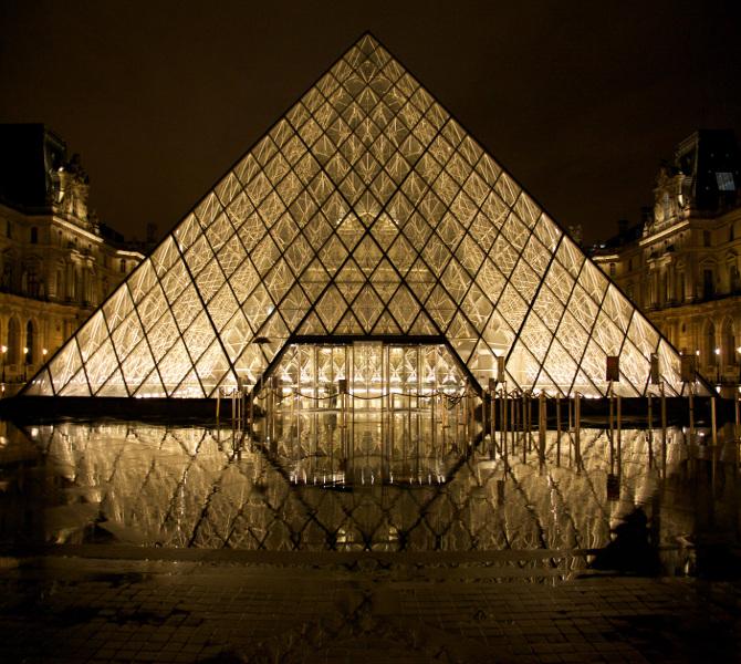 Image de musée de nuit