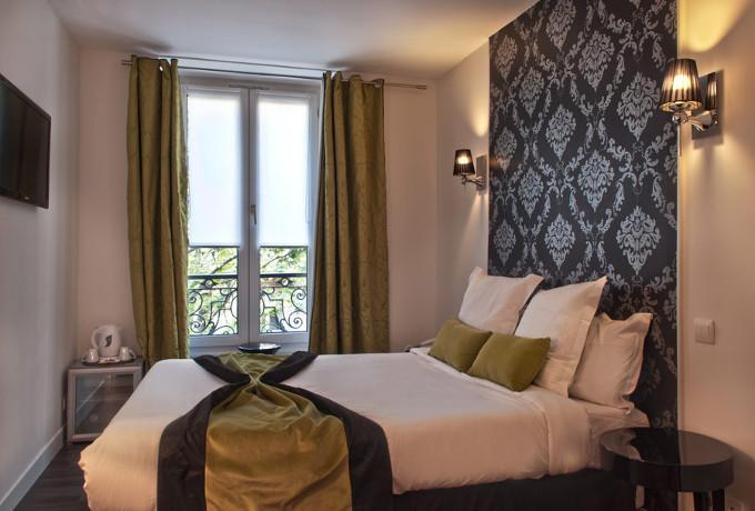 Chambre vue sur 1 lit double
